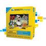 Kit Prepago Directv 60 Cm Cable Rg6 Conectores Instalacion
