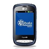 Celular Lg Wink Tv E300 Azul Vitrine Bloqueado Leves Defeito
