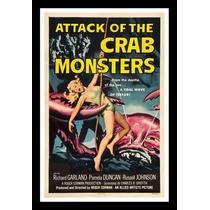 Cartaz Poster Decoração Vintage Retro Filme Ficção Terror A3