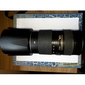 Lente Nikon 80-400mm 4.5-5.6g Ed 12x S/ Juros [ 70-200mm ]