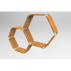Encastres 3d Muebles X8 Conectores Para Madera 2mm