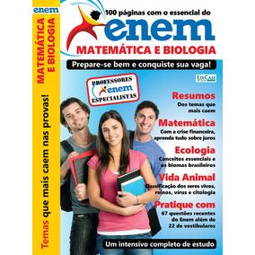 Livro Enem 2018 - Matemática E Biologia