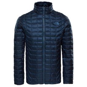 The North Face Thermoball Full Zipper Azul Urbano Talla S