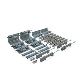 Sistema Deslizante Ss200 Top Para 3 Portas 50kg Rometal