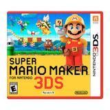 Super Mario Maker Para Nintendo 3ds - Nuevo Sellado