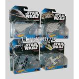 Star Wars Lote De 4 Naves Galacticas Hot Wheels Imaginext