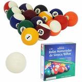 Bolas Sinuca/bilhar 16 Bolas Coloridas - 3 Jogos Completos