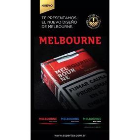 Cigarrillos Melbourne - Común, Light Y Mentol