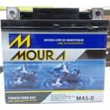 Bateria Moto Bros 150 Es Partida Elétrica Htz6l Htzcl Ma5-d