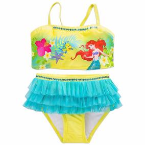 Malla Bikini Disney Store Princesa Ariel La Sirenita T4