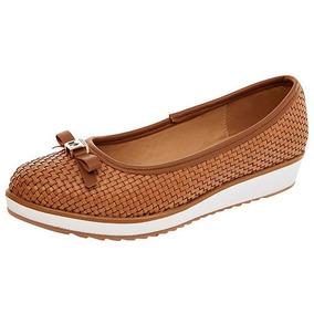 Bonitos Zapatos De Tacón Corrido Ferrioni Originales: Camel
