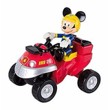 Mickey Mouse Articulado Y Su Cuatriciclo De Emergencia