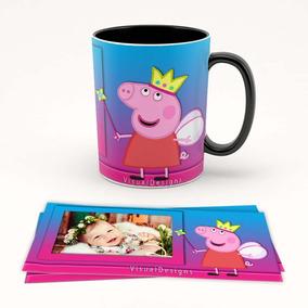 Estampas Canecas Peppa Pig Artes Png Prontas Sublimação