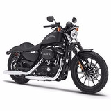 Miniatura Moto Harley-davidson 2013 Sportster Iron 883 1:12