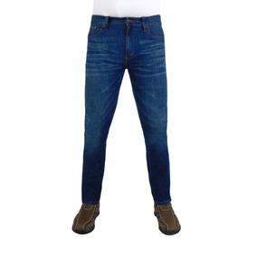 Jeans Breton De Mezclilla Para Caballero. Skinny Fit. Bjm011