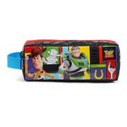 Estojo Infantil Escolar Soft 2 Divisoes Toy Story Original