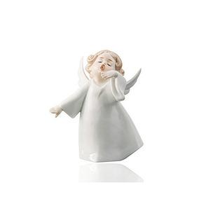 Canto De Poco Ángel Del Bebé Querubín Figuras De Porcelana E