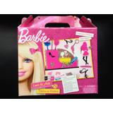 Cajas Valijas Barbie Linea Arte En Madera Dia Del Niño