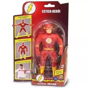 Boneco Flash Estica Heroi Dtc
