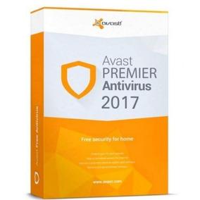 Licencia Antivirus Avast 2017 Premier X 5 Años. Hasta 2022