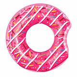 Colchoneta Flotante Inflable Pileta Dona Color Rosa Mujer
