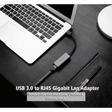 Ugreen Adaptador Usb Ethernet Usb 3.0 Rj45 Lan Gigabit