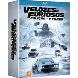 Blu-ray Coleção Velozes E Furiosos - 8 Discos