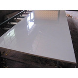 Placa Melamina Faplac Blanco Brillante 18mm 1,83 X 2,75 Mts
