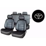 Capa De Banco 100% Couro Toyota Etios Hatch 2012 Universal