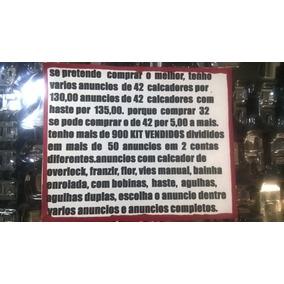 Kit Pés De Máquina Calçadores 32 Peças+haste+13 Agulhas
