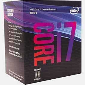 Processador Intel I7 8700 C/ Cooler 3.20 Ghz 8ª Geração