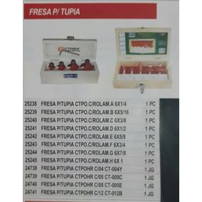 Fresa P/tupia Ctpohr C/12 Ct-012b Cod 24741 1 Pç