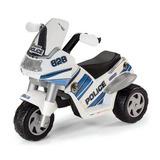 Moto Eletrica Raider Policepolizei 6v Peg Perego
