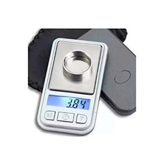 Mini Balanza Digital 0,01 A 200 Gr 40x70 Mm Villa Luro