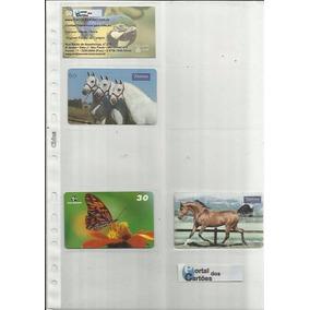 004 Nv 10 Pacotes De Folhas Refil Porta Cartões Chies