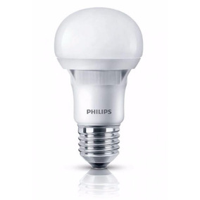 Pack X50 Lamparas Philips Led Casa 220v 7w 6w Calida Frias