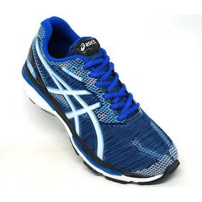 Tenis Asics Gel Nimbus 20 Azul Escuro E Branco 8c6897f459bb9