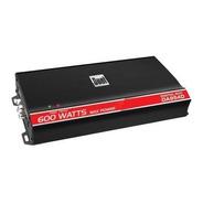 Dual - 600w D Puenteable Multicanal Amplificador Mosfet Clas