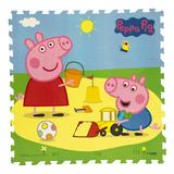 Tapete Mágico Pepa Pig Ronda 94.5x94.5cm