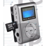 Mp3 Shuffle Chip Con Clip Sopor Hasta 16gb Micro Sd Calidad