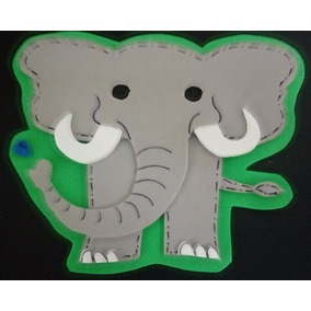 Figura Foamy Animales De La Selva
