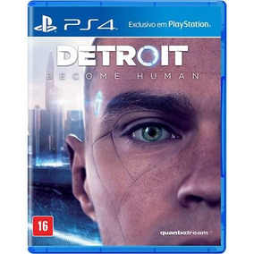 Jogo Detroit Become Human - Ps4 - Playstation 4 Mídia Física
