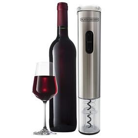 Abridor De Vinho À Pilha Wine Inox Black Decker