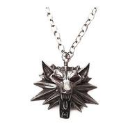 Cordao/colar The Witcher Geralt De Rívia Lobo Geek/nerd Novo