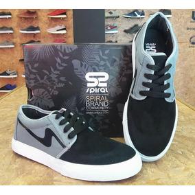 Zapatillas Spiral Shoes Art Rv018 Basic Low N/gris