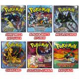 Pasta Fichário Pokémon Tcg + 20 Folhas + Cards Brinde