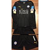 Uniforme Goleiro Leicester City Schmeichel Premier League