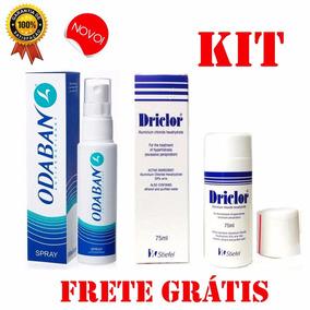 Driclor Desodorante 75ml Odaban 30ml Original Frete Grátis