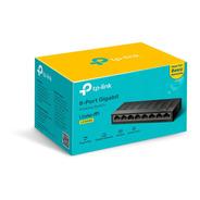 Switch Tp-link, 8 Puertos, 10-100-1000 Mbps Ls1008g