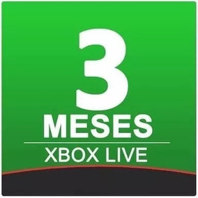 Promocion Membresia Xbox Gold 3 Meses - 1 Mes One/360 12 Mes